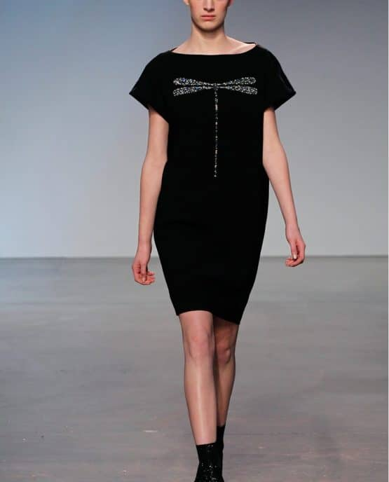 Thakoon Black Urban Runway Dress