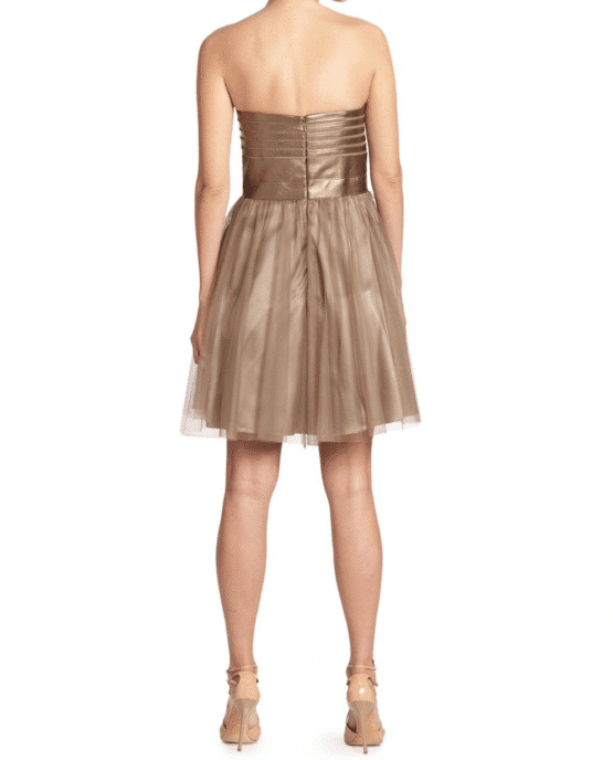 Aidan Mattox Short Tulle Dress