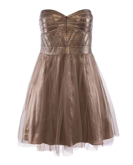 aidan_mattox_sleeveless_faux_leather_tulle_party_cocktail_dress_gold
