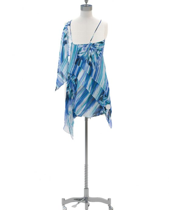 bcbg_blue_watercolor_asymmetrical_dress_bcbg_max_azria_maxazria_back