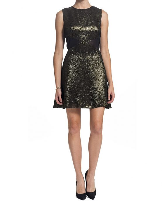 charles-henery-dress-cocktail-gold-onmodel