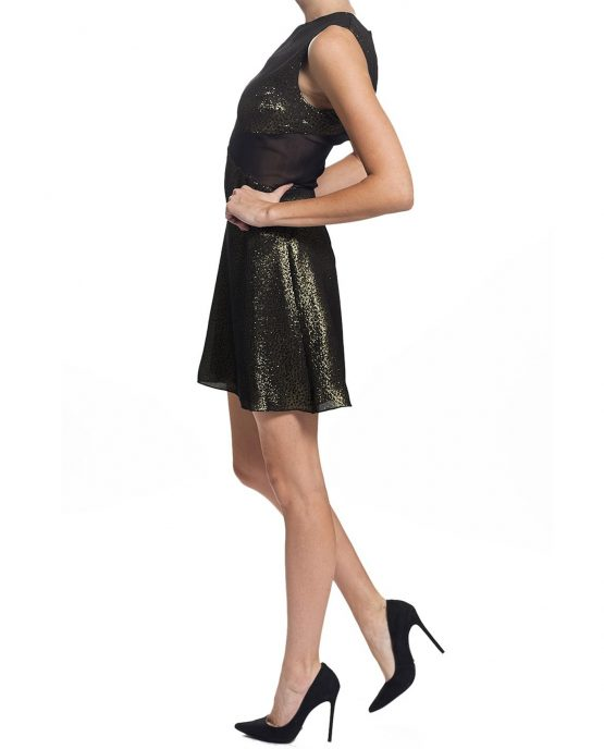 charles-henery-dress-cocktail-gold-sideview