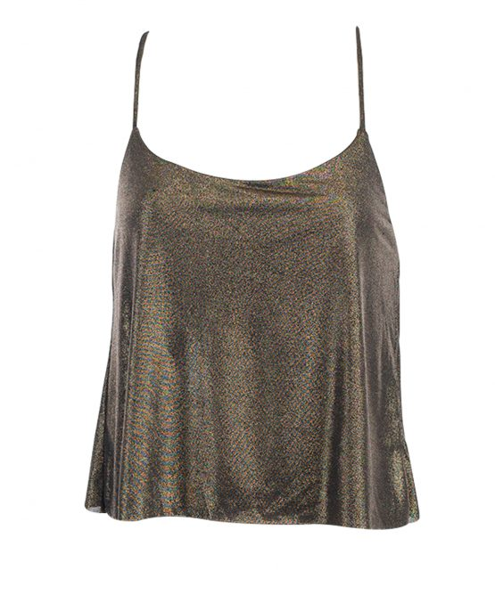Gold Tank Top House Of Harlow 1960