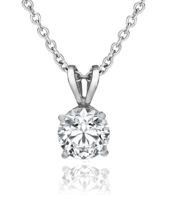 18k Gold Diamond Pendant Canada
