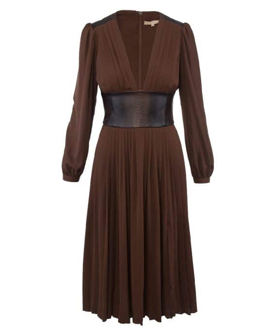 michael_kors_collection_leather_belted_pleat_dress