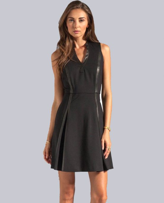 rebecca-taylor-black-dress-ponte