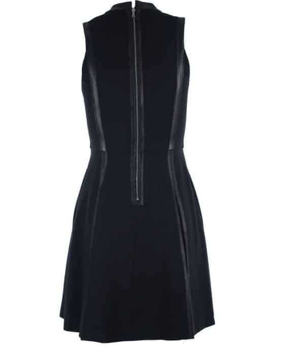 rebecca_taylor_black_dress_ponte_leather_trim_back