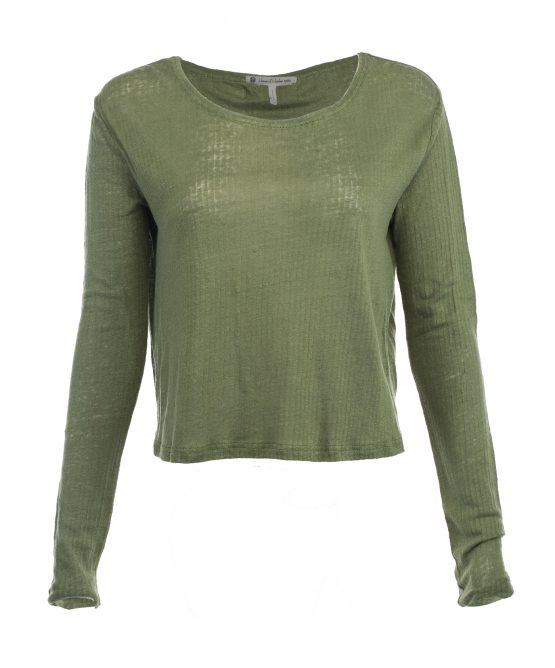 Sage Long Sleeve Top Boho Chic