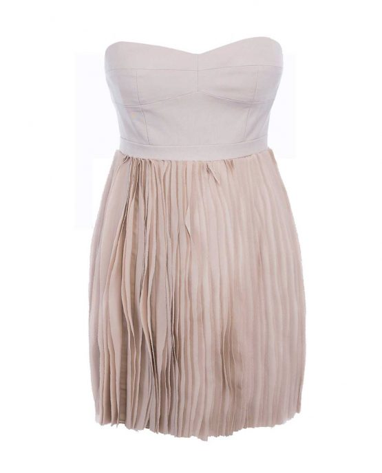 strapless_pumice_beige_pleated_dress-1