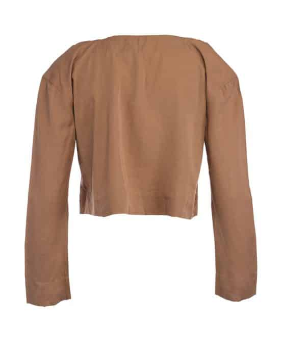 Brown – House Of Harlow long sleeve top.