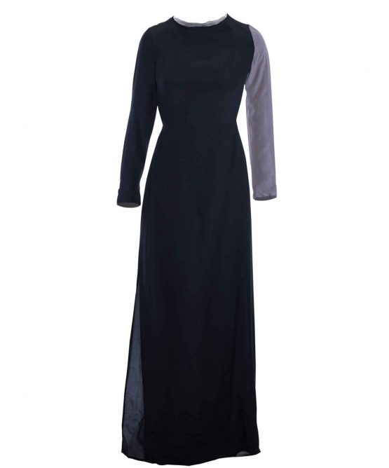 Winter Kate Silk Long sleeve Dress