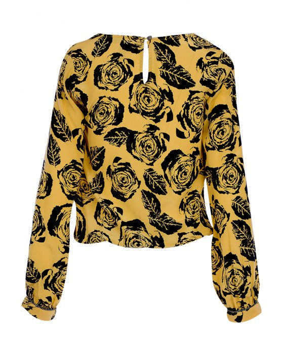 winter-kate-silk-blouse-deep-v-yellow-floral-top