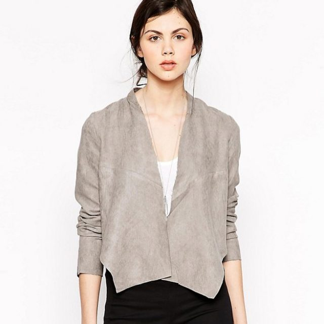 House of Harlow jacket httpshopferoshcomshophouseofharlow1960luxebohocanadahouseharlowcoltranefauxsuedejacket Save 50 on designer fashionshellip