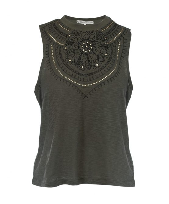 Boho Chic Sage Tank Top House Of Harlow 1960