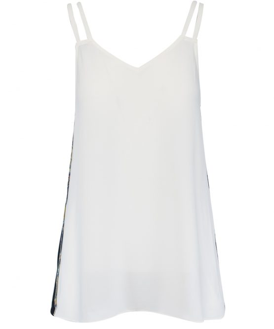 House Of Harlow 1960 Tripple Strap Tank Colorblock