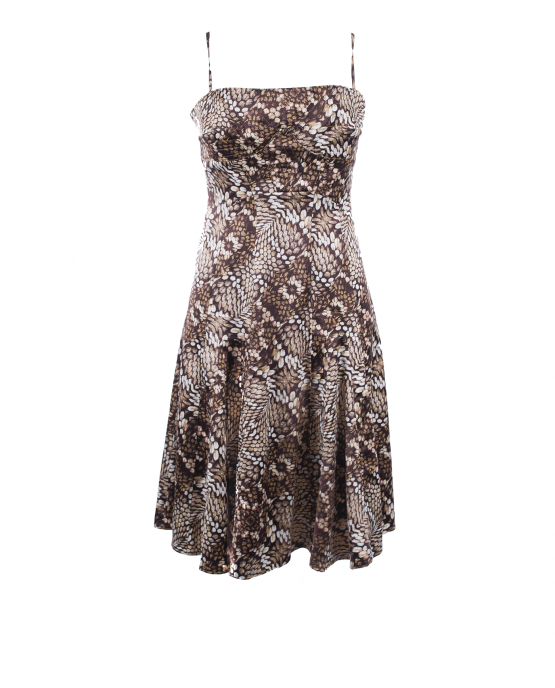 just_cavalli_animal_print_summer_dress_brown_snakeskin