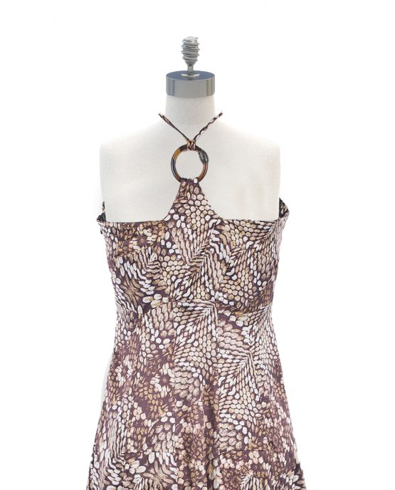 just_cavalli_animal_print_summer_dress_brown_snakeskin_back-2