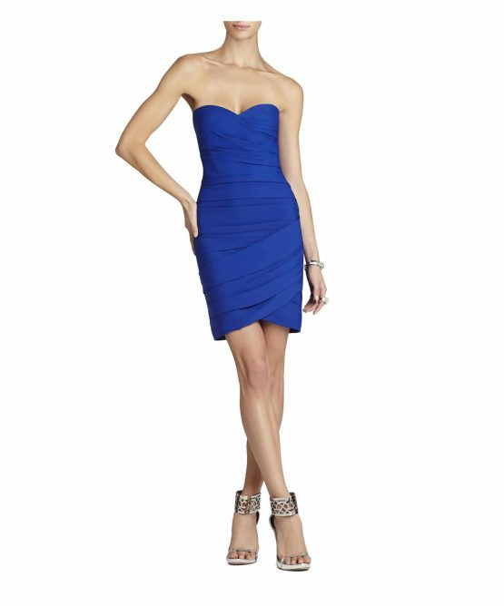 BCBG Max Azria Blue Madge Dress