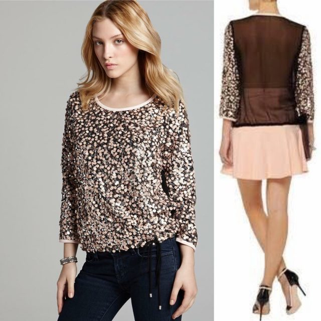 The Diane Von Furstenberg DVF blouse is a favorite athellip