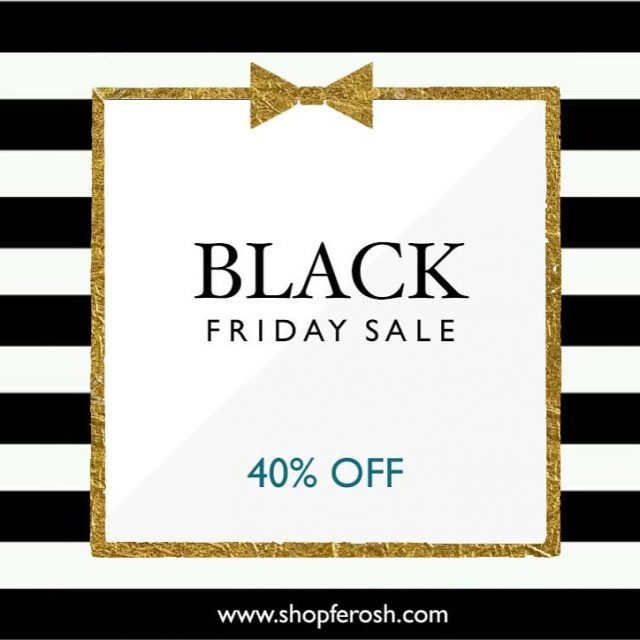 Black Friday sale at SHOPfEROSh All our stunning fashions arehellip